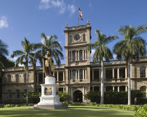 Aliiolani Hale - Honolulu, Hawaii