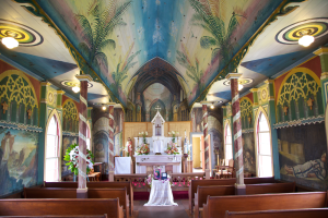 St. Benedict's Painted Church - Kona, Hawaii