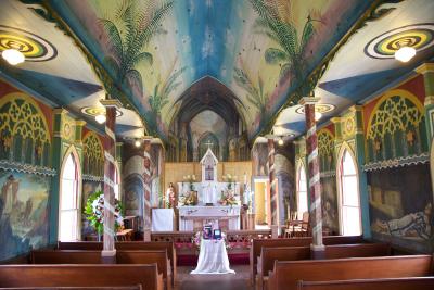 St. Benedict's Painted Church - Kona, Hawaii