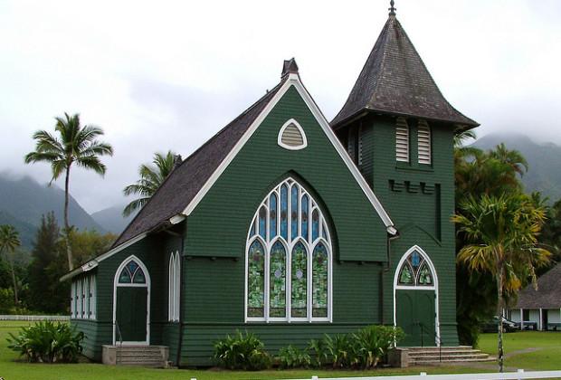 Waioli Huiia Church - Kauai, Hawaii