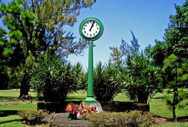 Hilo Clock - Big Island, Hawaii