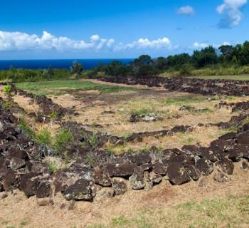Pu'u o Mahuka Heiau State Monument - Oahu, Hawaii