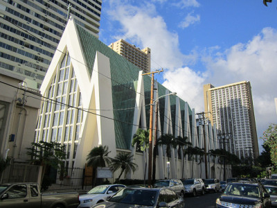 Saint Augustine by the Sea Catholic Church - Waikiki, Hawaii