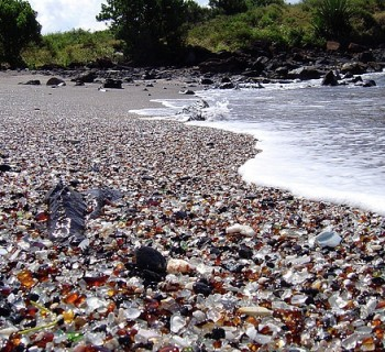 Glass Beach - Kauai, Hawaii