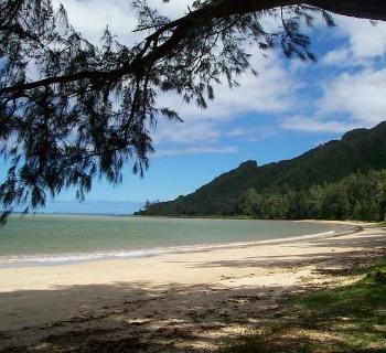 Kaaawa Beach Park - East Oahu, Hawaii