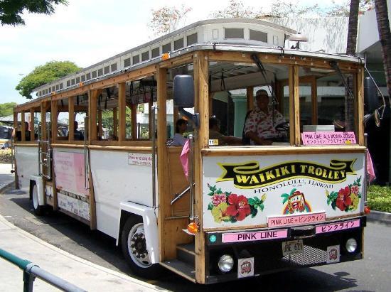 Waikiki Trolley - Hawaii