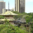 Sanju Pagoda in Honolulu Memorial Park