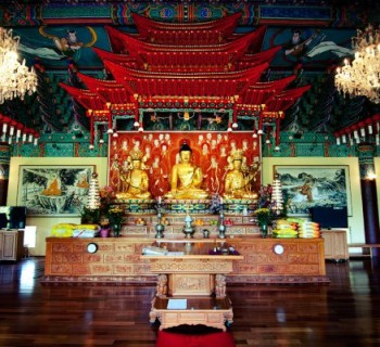 Mu-Ryang-Sa Buddhist Temple - Honolulu, Hawaii