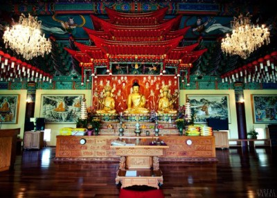Mu-Ryang-Sa Buddhist Temple - Honolulu, Hawaii