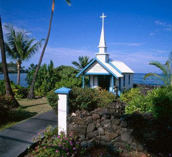 Saint Peter's Catholic Church - Kahaluu, Hawaii
