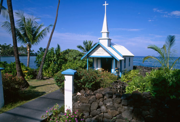 Saint Peter's Catholic Church - Kahaluu, Hawaii
