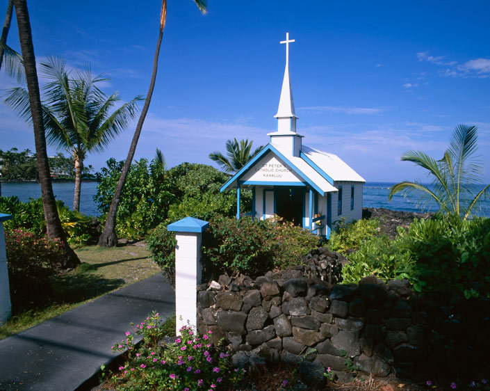 Churches Hawaii Big Island