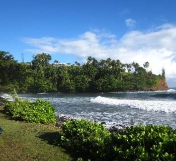 Honoli'i Beach Park - Hilo, Hawaii