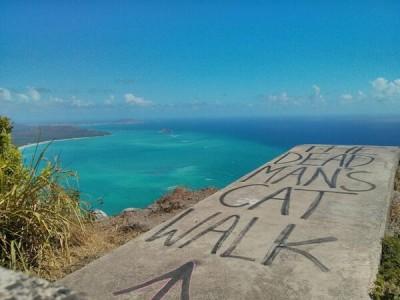 The Dead Man's Cat Walk - Kamehameha Ridge, Oahu, Hawaii