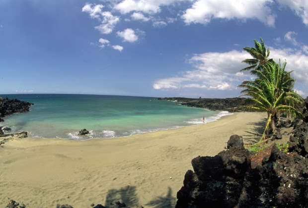 Pohue Bay - Kau District, Big Island of Hawaii