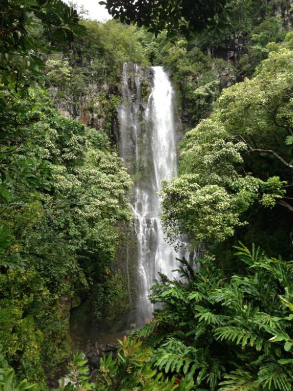 Makahiku Falls - Maui Hawaii