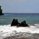 Twin Rocks at Onomea Bay, Hawaii