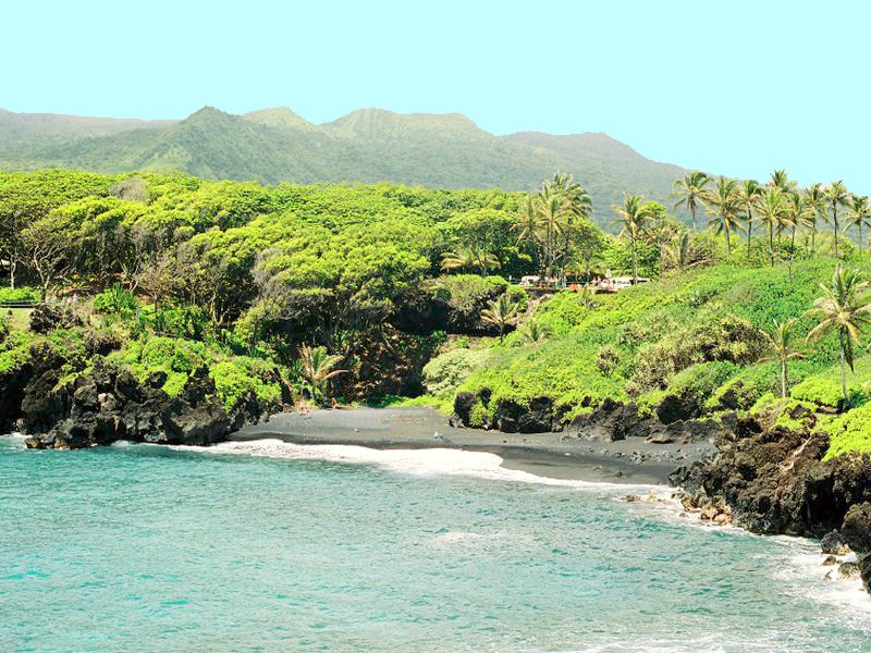 Honokalani Beach - Hana, Maui, Hawaii