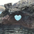 Heart-Shaped Hole on Rock near Nakalele Blowhole