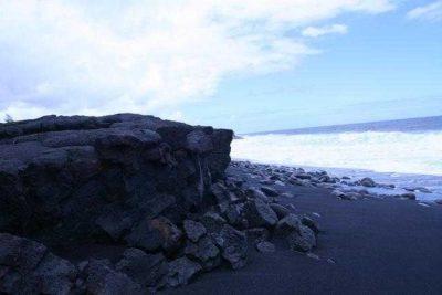 Kaimu Black Sand Beach - Kalapana, Hawaii