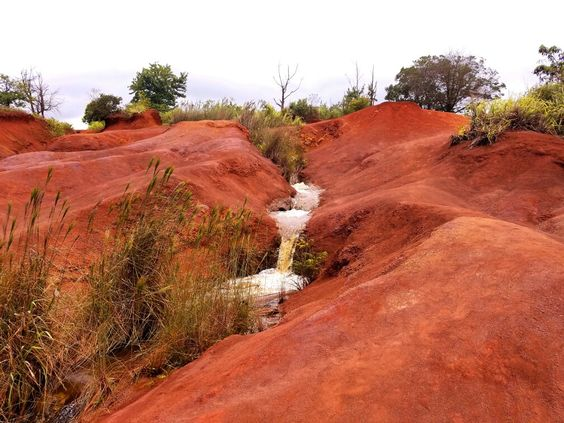 Red Dirt Falls - Waimea Canyon