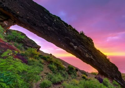 Koko Crater Arch - Oahu, Hawaii