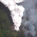 Kapoho Green Lake - Steam Plume