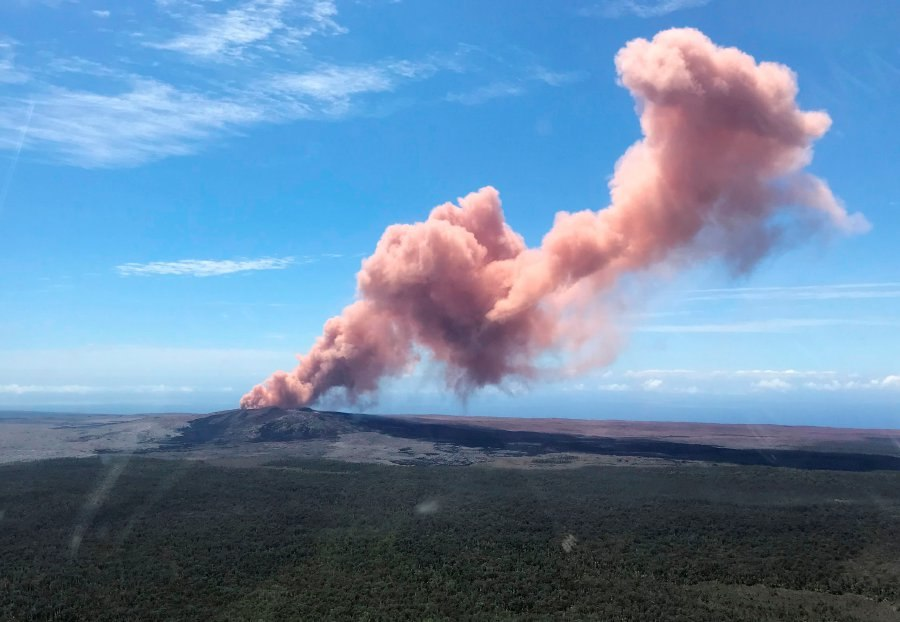 Kilauea Volcano Eruption - May 2018