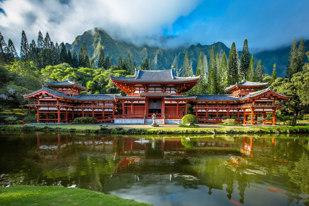 Byodo-In Temple, Oahu, Hawaii