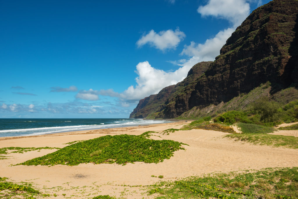 Barking Sands Beach, Kauai, Hawaii