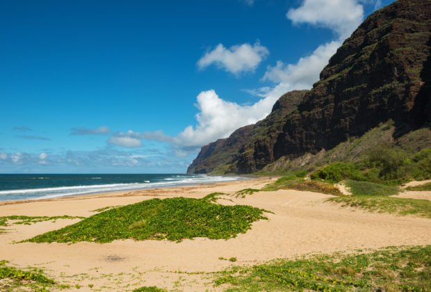 barking-sands-beach-kauai-hawaii